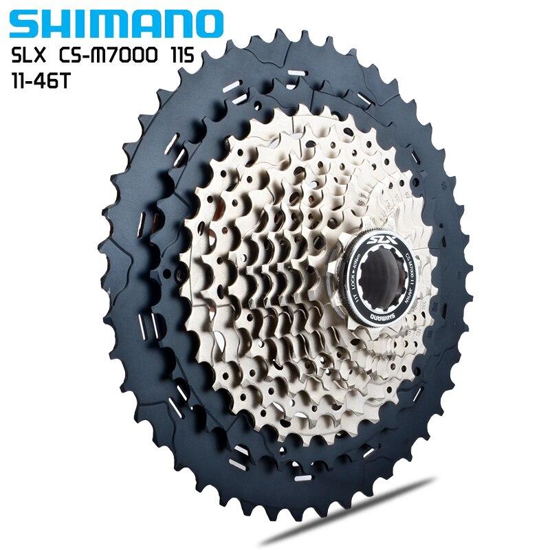 Shimano DEORE SLX CS-M7000 Kassette 11 S vtt fahrrad freilauf 11-40 T 11-42 T 11-46 T kassette