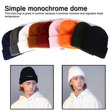 1 Pcs Hat True Casual Beanies for Men Women Warm Knitted Winter Fashion Solid Hip-hop Beanie Unisex Cap