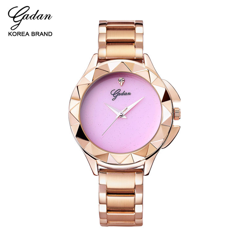 YADAN Famous Brand Ladies Stainless Steel Quartz Watches Fashion Watches Pink Women Ladies Clock Watch Ladies Watch onlyou brand luxury fashion watches women men quartz watch high quality stainless steel wristwatches ladies dress watch 8892