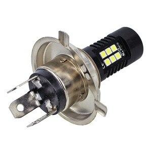 Image 4 - 2Pcs LED Fog Lights For Car 12V DC H4 3030 21 LED Lights White 6500K Car Fog Head Light Lamp Headlight Light Bulbs For Cars