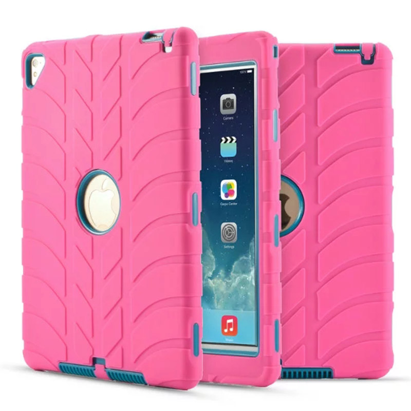 Carry360 For iPad Pro 9.7 Case Arrival Shockproof Double Layer Rugged Hard Rubber Protective Cover for iPad air 2 (Ipad 6)