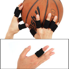1pc Sport Finger Splint Guard Bands Bandage Support Wrap Basketball Volleyball Football Fingerstall Sleeve Caps Protector(China)