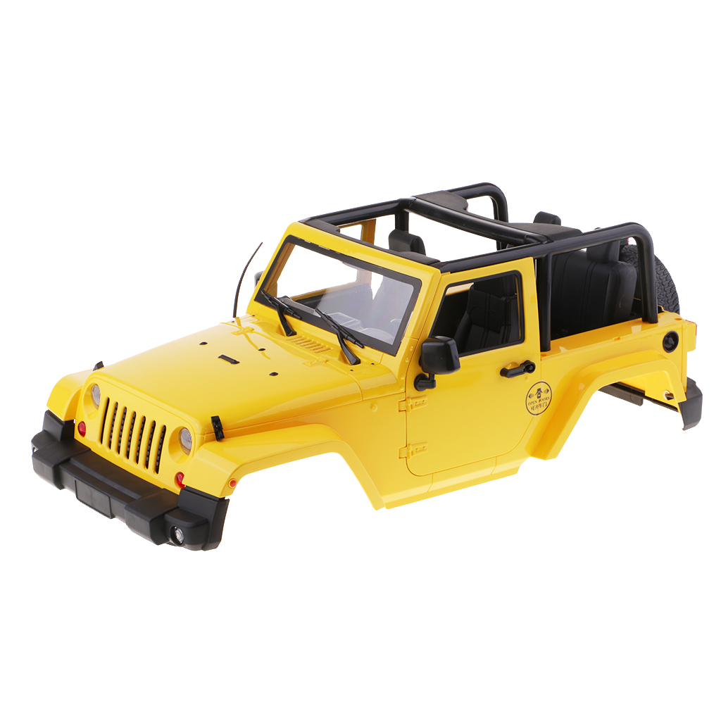PVC Wrangler Body Shell for SCX10 90020 90021 90018 D90 1/10 RC Crawler Cars body jeep jk 1 10 red 1 10 rc crawler rc car hard top d90 body shell of jeep wrangle scx10 d90 90020 90021 90018
