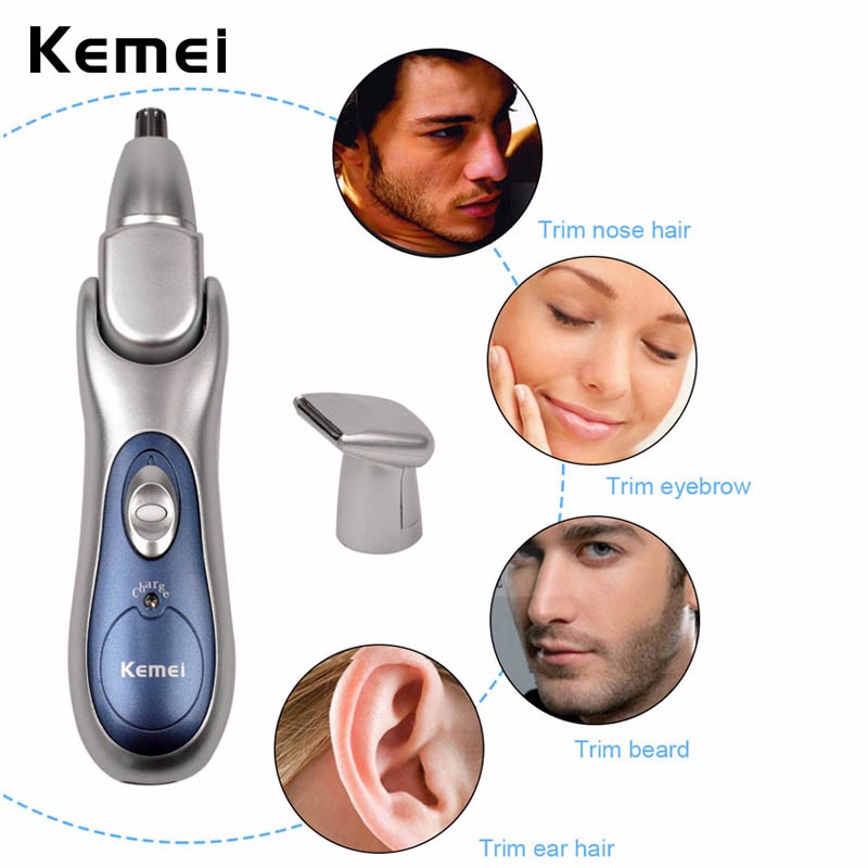 110-240V Electric Nose Ear Hair Trimmer for Men Women trimming Eyebrow Sideburn Beard Hair Clipper Cut Removal Shaver Face Care face care electric women men nose ear neck eyebrow trimmer hair remover shaver wet dry underarms body leg bikini arms epilatorpj