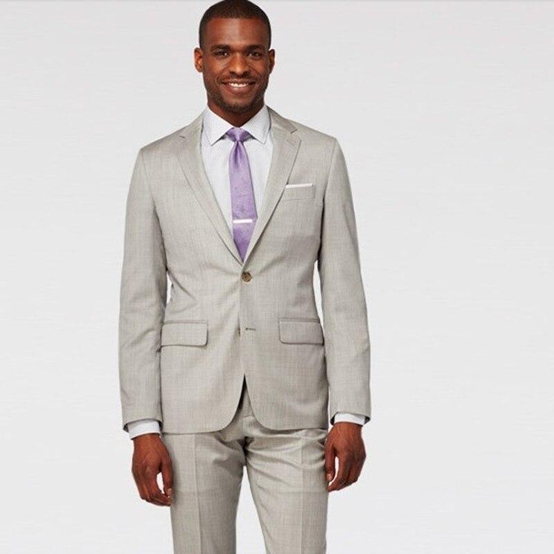 tuxedo for font b men b font font b suit b font light grey groom wear