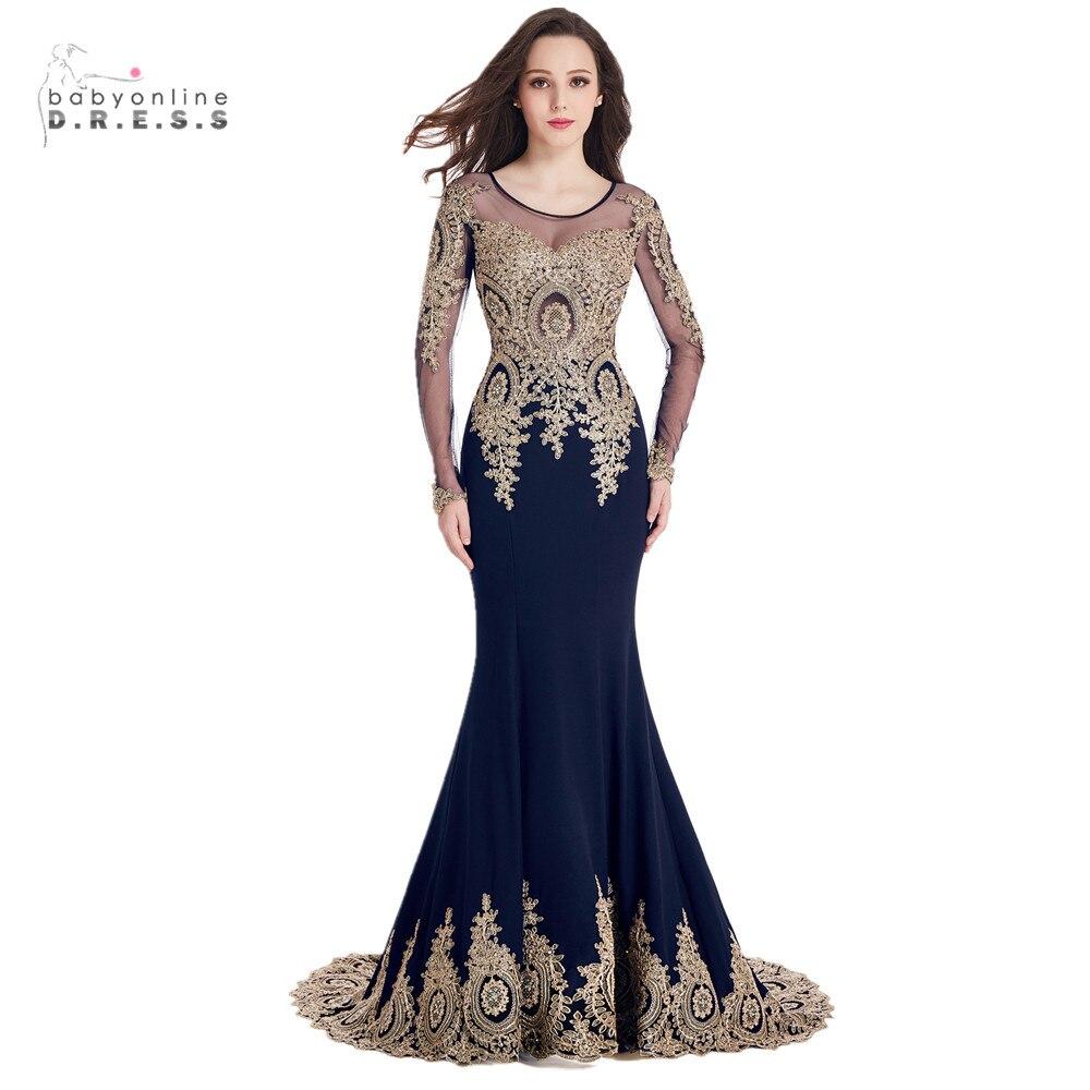 Online Get Cheap Gold and Blue Evening Dress -Aliexpress.com ...