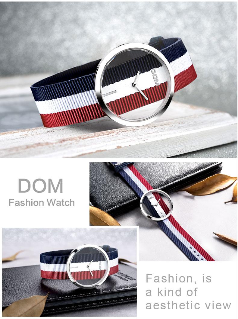 DOM: Reloj de pulsera de lujo para mujer 18