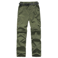 Boys Girls Monolayer Can Be Split Sports Hiking Super Stretch Trousers Quick Drying Fishing Climbing Outdoor