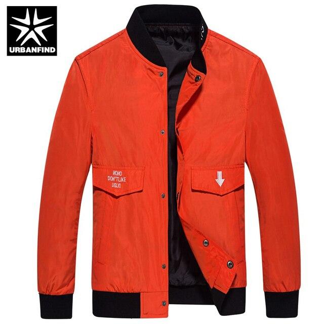 f4e55304875 URBANFIND Men Casual Fashion Jackets Black / Blue Plus Size M-4XL Big  Pocket Design 5 Colors New Autumn Spring Man Coats