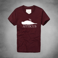 1 ATTICUS Dead Bird Logo T Shirt Fashion New Brand Men Alternative Casual Short Sleeve T