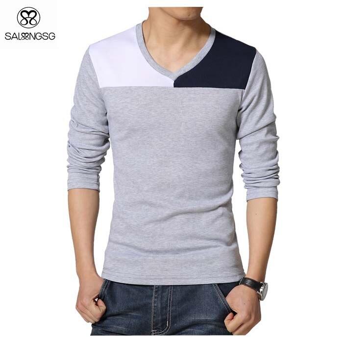 Camisetas hombre v for Camisetas de interior hombre
