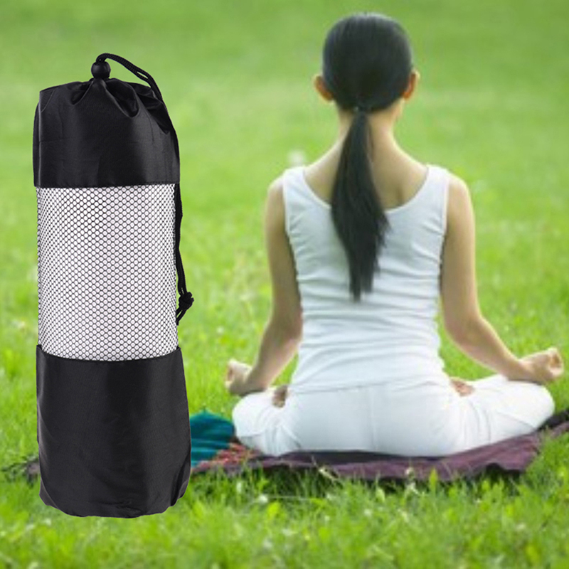 Ropa, Calzado Y Complementos 35*10.5cm Yoga Bag Canvas Practical Yoga Pilates Sport Exercise Mat Carry Strap Drawstring Bag Gym Bag Fitness Backpack