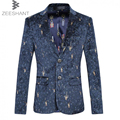ZEESHANT XXXXXXL Plus Size New Suit Men Casual Suit Jacket Terno Masculino Latest Coat Designs Blazers in Men's Suit Jackets