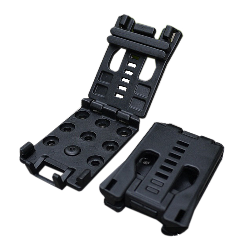 5PcsOutdoor Sport Tactical Waist Belt Clip Back Clamp Multifunction K Sheath Kydex Scabbard EDC Gear Tool Outdoor Camping Hiking