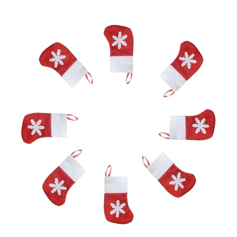 12komada / torba božićni ukras dobavljača pucao čarape od - Za blagdane i zabave - Foto 2