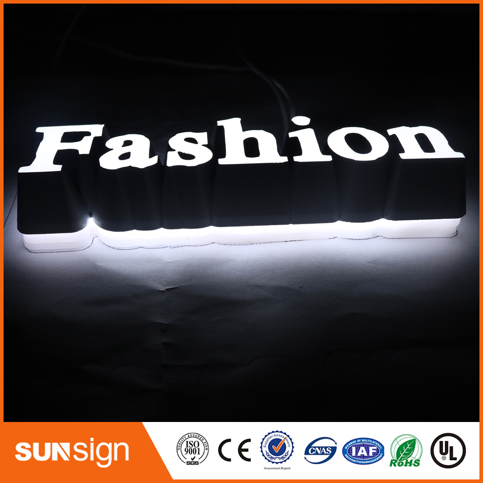 Mini Led Channel Letters Led Open Sign For Meat Shop