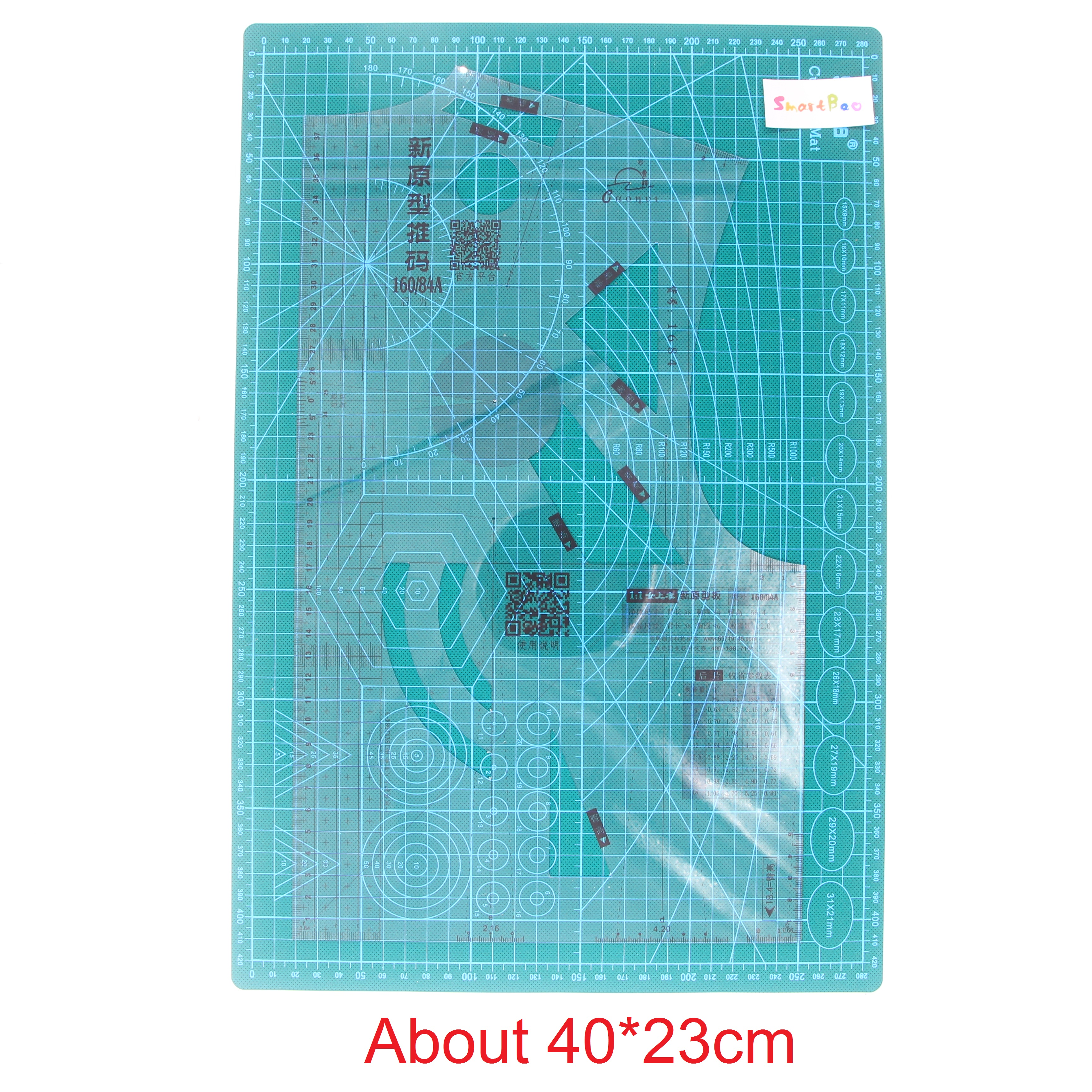 1:1 Fashion Design Ruler Cloth Design School Student Teching Apparel Drawing Templete Garment Prototype Rulers