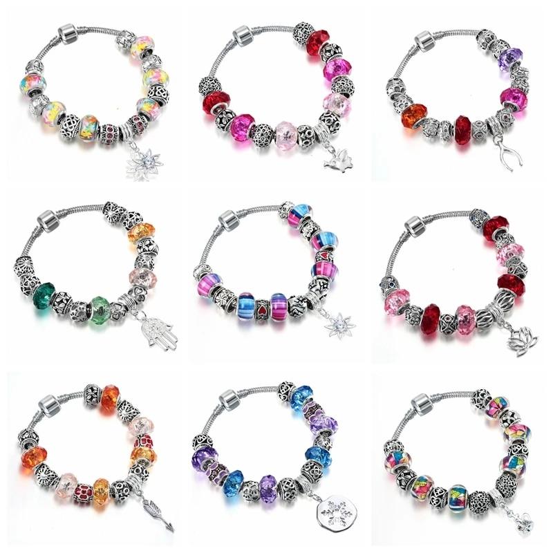 plastic beads bracelet colourful costume jewllery Bracelet