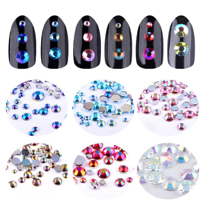 Flight Tracker 2018 Hot Rainbow Unicorn Nail Art False Tips Practice Display Transparent Natural Black Color False Nail Tips Manicure #33 New Varieties Are Introduced One After Another Nails Art & Tools