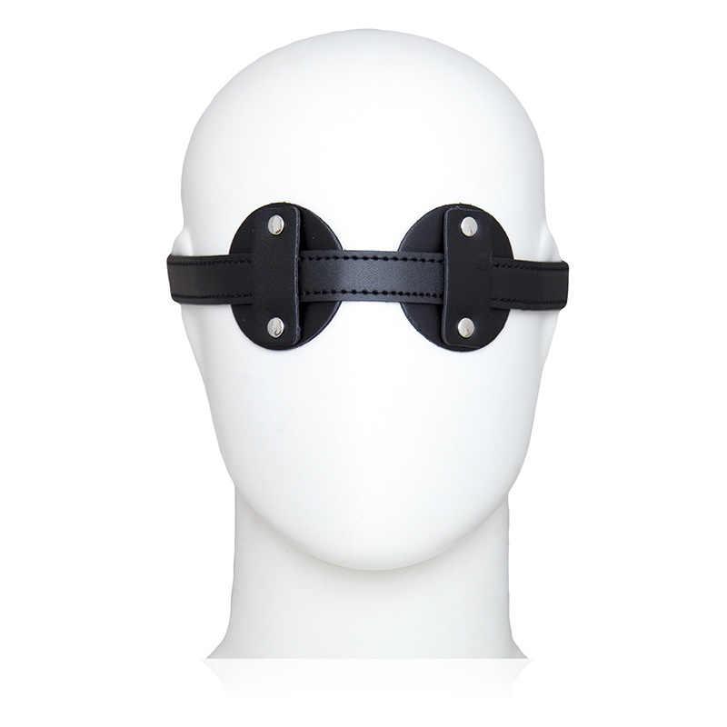Фетиш интимные игрушки для взрослых искусственная кожа с завязанными глазами маска флирт Сексуальное белье для женщин ролевые игры SM игры аксессуары