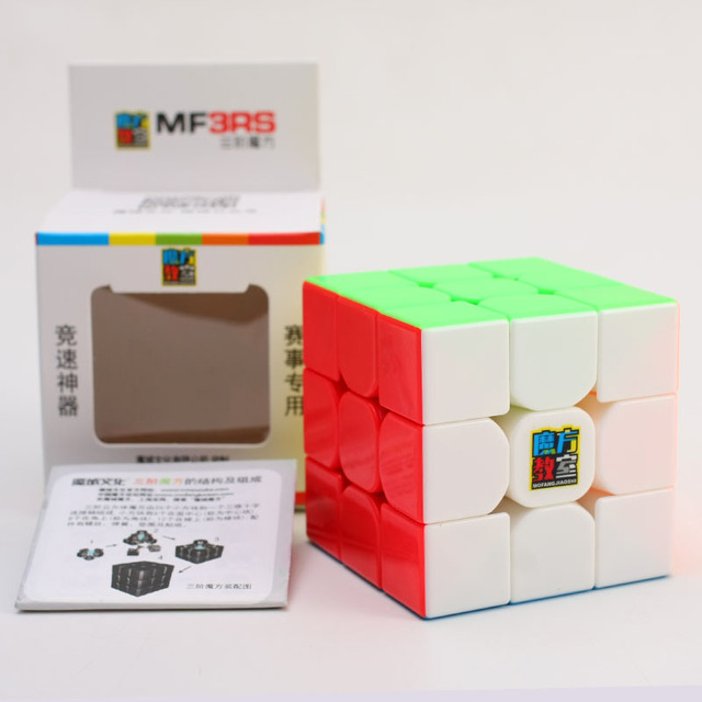 Original Moyu MF3RS 3x3x3 5.7cm Magic Cube Puzzle 3x3 Cubing Speed  toy Professional cubo magico Educational Toys for children 4