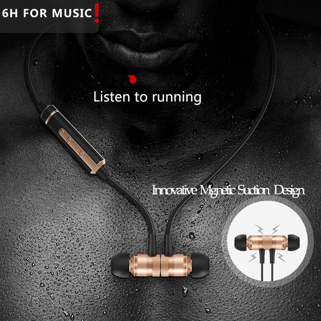 H16 Wireless Bluetooth Earphones With Mic