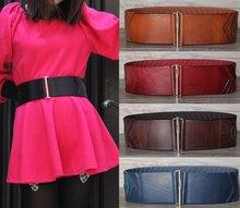 Genuine Leather Belts For Women Belts Female Wide Elastic Belt Cummerbund Cintos Femininos Largos Corset Ceinture Retro BTW0006