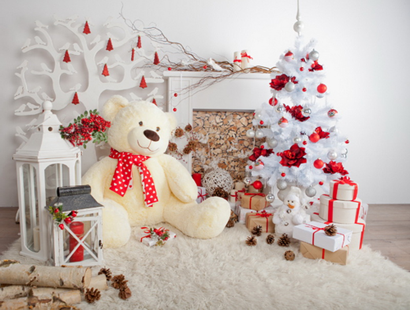 Horizontal Christmas Decorations For Home Photography