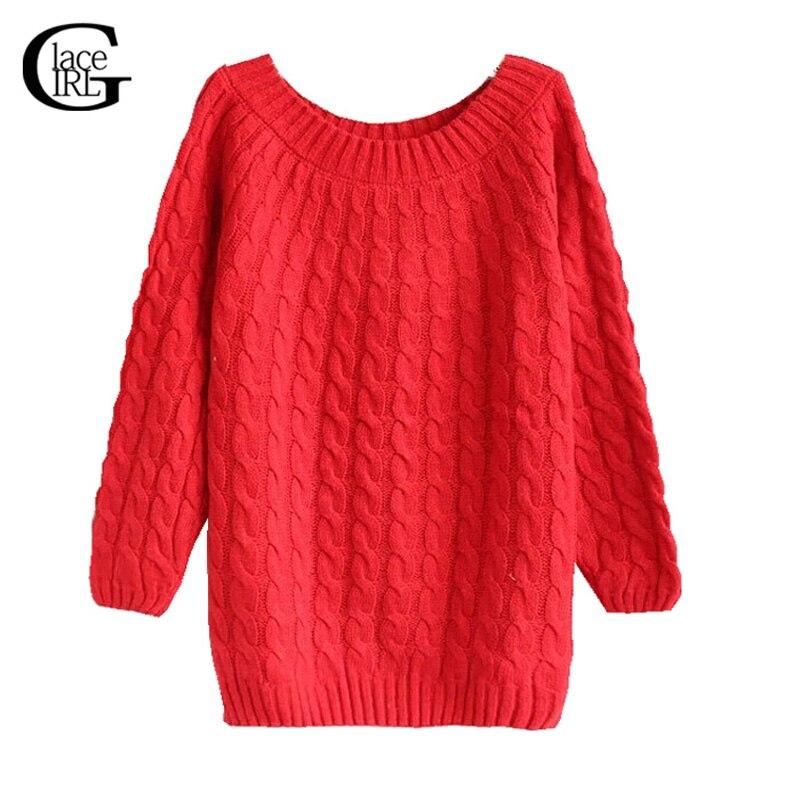 Lace girl 2017 otoño invierno las mujeres de la vendimia de punto jersey básico