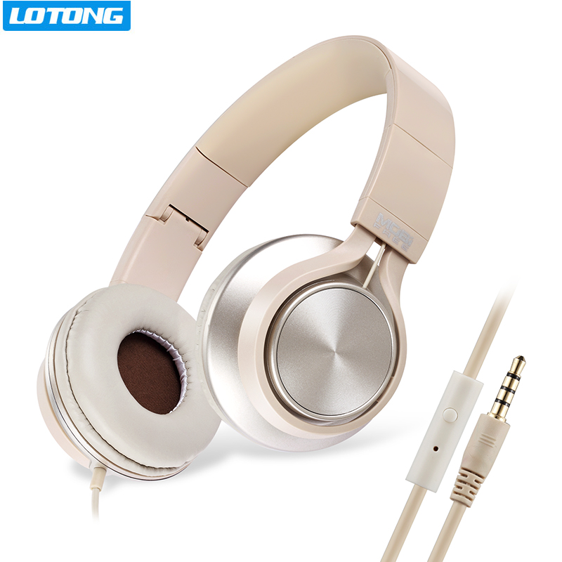 Stereo Handsfree Headfone Casque Audio Foldable Headset Earphone Headphones With Microphone for Computer PC Aux Head Phone Set rock y10 stereo headphone earphone microphone stereo bass wired headset for music computer game with mic