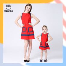 Moomba children s clothing 2016 summer clothes for mother and daughter skirt family fashion female child