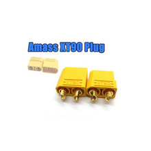 2/4/6/10 Pcs Amass XT90 Male/Female Bullet Connector Plugs For RC Plane Lipo Battery 140300490