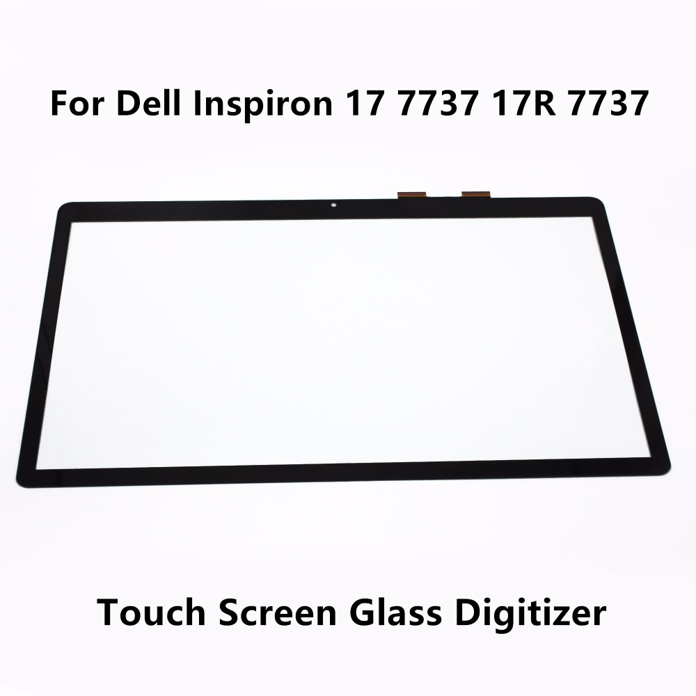 New Genuine 17.3 For Dell Inspiron 17 7737 17R 7737 Touch Screen with Digitizer Glass Lens Panel Repair Replacement Repairing original new genuine 11 6 inch tablet touch screen glass lens digitizer panel for hp x360 310 g1 replacement repairing parts