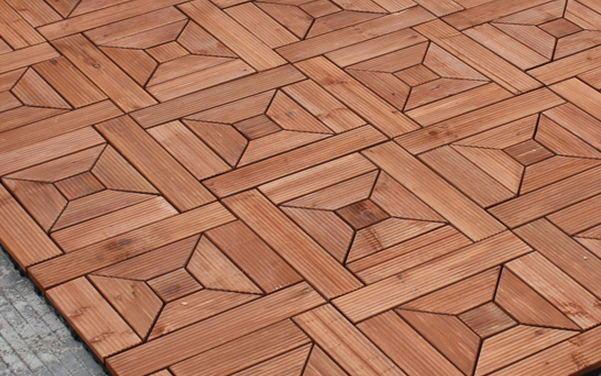 Outdoor Wood Floor Gazebo Balcony Wooden Floors Preservative Slip