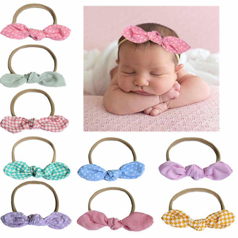 Elastic Headband for Girls Knot Bandage Hairband Turban Headbands Headwrap  Newborn Baby Headwear Hair Accessories Outdoor 8b367b7ca019