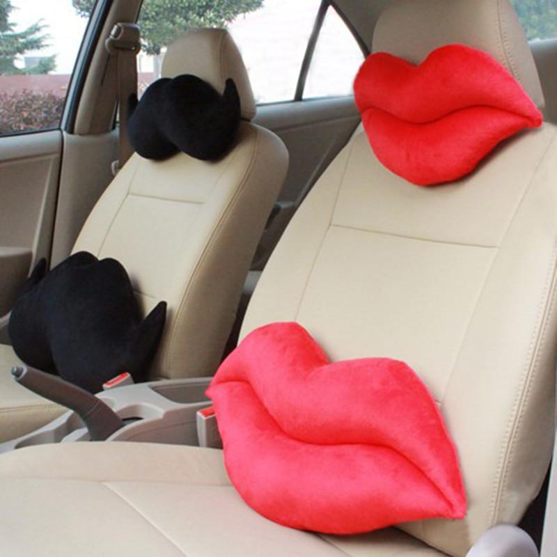 Aliexpress.com : Buy Red Lip Shape Car Seat Neck Rest