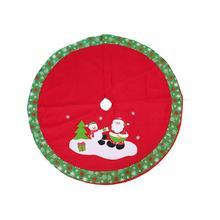 Santa Claus Snowman Christmas Tree Skirt Decorations Home Supply Christmas Gifts happy new year Scene Decor Tree Skirt Navidad
