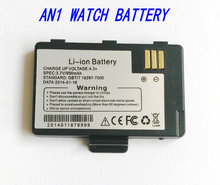 1x AN1 WATCH PHONE li-ion battery 900mAh for Watch cell phone AN1 Smart watch mobile phone