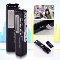 Mini Dijital Ses Kaydedici kulaklık MP3 Çalar 4 GB Kayıt Kalem 125600 Dakika ile LCD Ekran