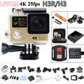 Remote Action Camera Original H3 / H3R Ultra HD 4K WiFi 2.0 LCD 170 lens Extreme go waterproof pro camera 1080P/60fps