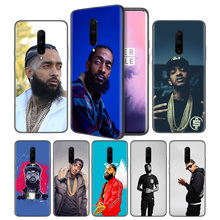 Nipsey Hussle Soft Black Silicone Case Cover for OnePlus 6 6T 7 Pro 5G Ultra-thin TPU Phone Back Protective
