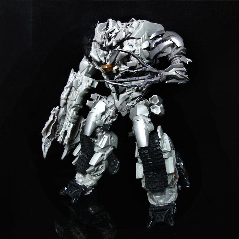 (IN STOCK) Toy UFO Mega Arm For ROTF Leader Class Megatron hand DOTM Leader Class Add-on Left-arm
