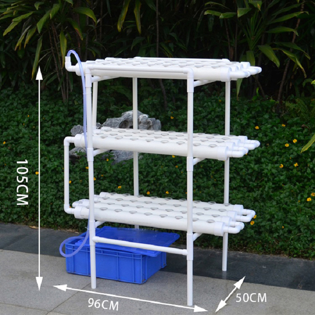 Skyplant 3 Layer 12 Pvc Pipe Nft Hydroponic System Planting