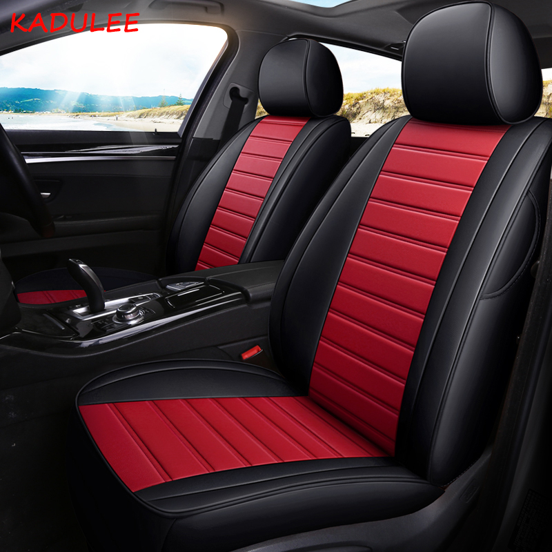 2018 Infiniti Qx30 Interior: KADULEE Custom Leather Car Seat Cover For Infiniti FX EX