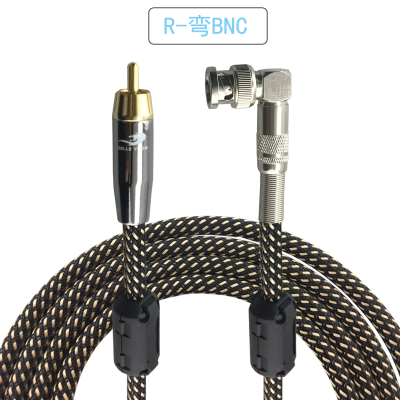 RCA to BNC Male Video Cable Q9 Video Extension Line 75-5 Monitor Camera Video Signal Interconnect Cable OFC 1M 2M 3M 5M