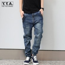 2017 Men's Casual Jeans Homme Washing Straight Jeans Pants Solid Classic Demin Trousers With Fake Zipper Rivet Hip Hop Jeans
