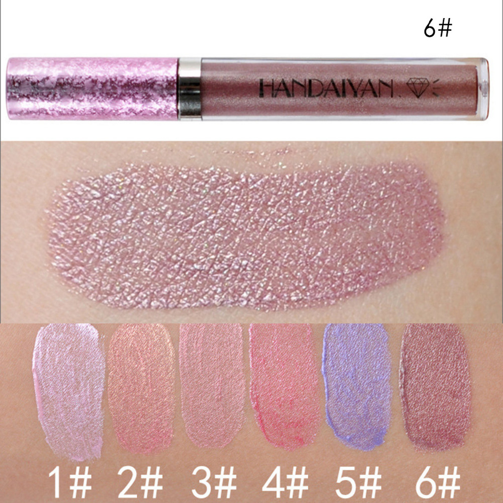 Diamond Pearly Lustre Glam Shiny Lip Gloss Moisturizing Lip Glosses Natural Ingredients Long Lasting non-stick long day wear 6