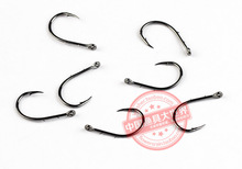20 packs/lot Mustad 10757sp-bn # hooks for sea fishing double backstab hooks high carbon steel barbed carp anzuelos pesca