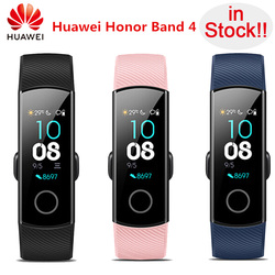 In Stock!!Original Huawei Honor Band 4 Standard Version Smart Wristband Color Screen Touch Pad Heart Rate Sleep Snap Monitor