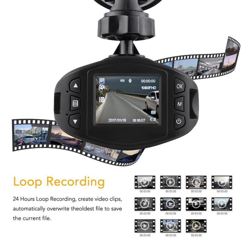 Bluavido Full HD 1080P Camcorder Avondmaal Nachtzicht Auto DVR WDR - Auto-elektronica - Foto 3